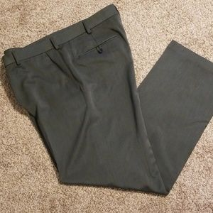Dark gray men's Izod dress pants